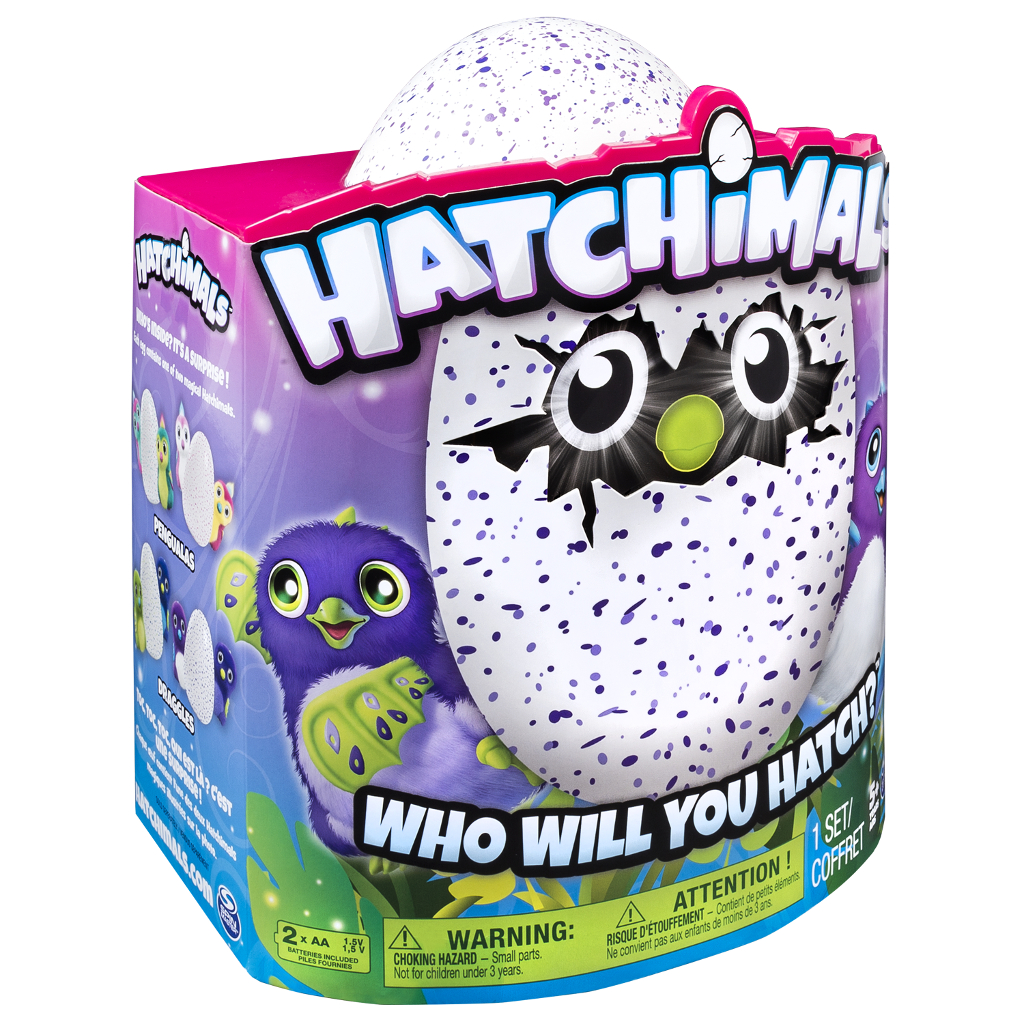 Интерактивный питомец в яйце Hatchimals
